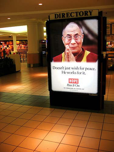 shopping centre spirituality